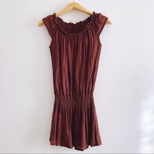 Ella Moss Linen Mini Dress or Tunic style Top